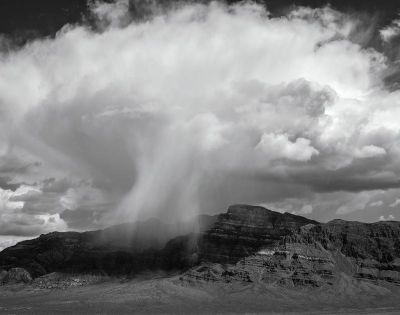 Storm Cell Over the House Range, Utah, 2016