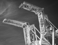 Loading Cranes #16, Port of Oakland, 2016