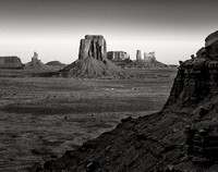 Monument Valley From Artist's Point, 2017