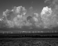 Windmills No. 1, Waialua Bay, 2016